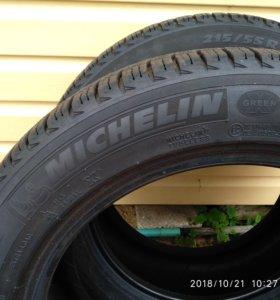 Зимние колеса липучка  2 шт в идеальном состоянии
