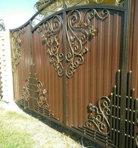 Ворота,заборы,калитки