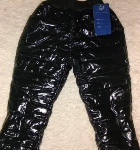 Теплые зимние штаны 92-98 размер