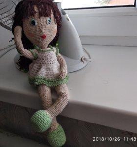 Кукла новая. Вяжу сама