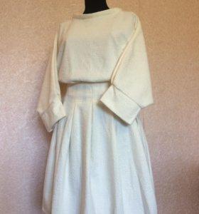 Новый костюм 46-48 M-L размер юбка и кофта