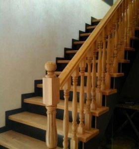 Лестницы из кавказского дуба