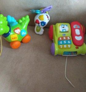 Музыкальные игрушки чикко