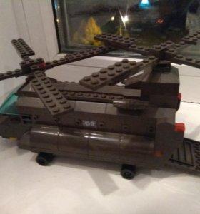 Лего вертолёт