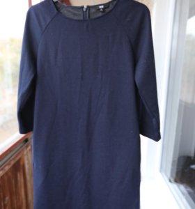 Платье  Uniqlo хлопок шерсть