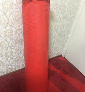 Боксерский мешок, крепление, накладки