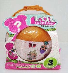 Кукла сюрприз LOL в большом шарике