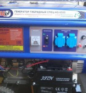 Генератор гибридный спец hg 6500
