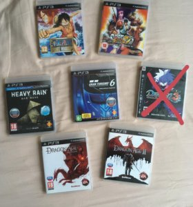 Игры для PS3 (лицензия)