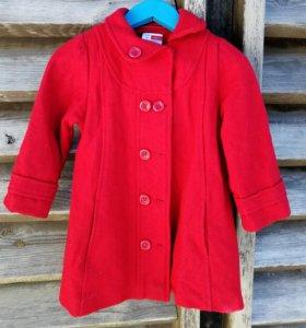 Пальто легкое на 1-2 года