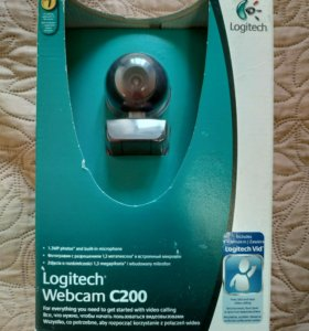 Новая веб-камера Logitech Webcam C200