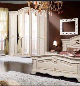 Спальня Сорренто 5 дверный в наличие