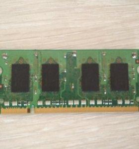 Оперативная память DDR2 1GB на ноутбук