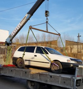 Услуги грузового автомобиля 5т с краном 3т
