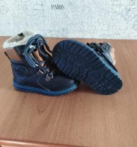 Продам зимние ботиночки, состояние новых.