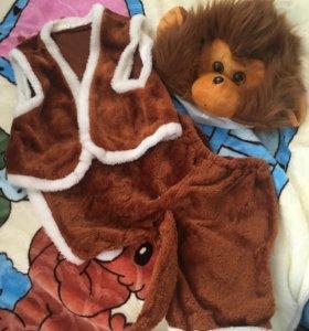 Новогодний костюм обезьянка