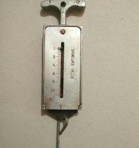 Весы пружинные бытовые (безмен)- 10 кг