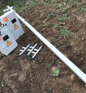 Трубостойка для установки щитов учета