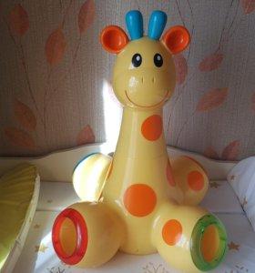 Жираф развивающий музыкальный