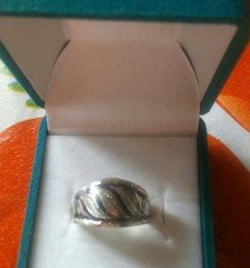 Кольцо серебро 875пр СССР