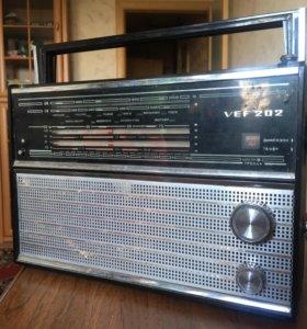 Раритетный радиоприёмник VEF-202.