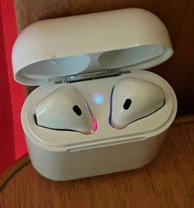 Беспроводные наушники Apple AirPods/ Ifans i 8 S