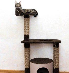 Новый домик когтеточка для кошек 76