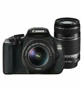 Canon 600d + Объектив canon 55-250