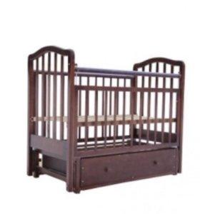Кровать детская классическая,маятник,ящик