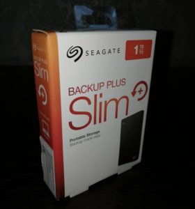 Siagate Slim 1Tb новый пломба