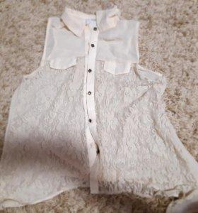 Блуза и кофта.