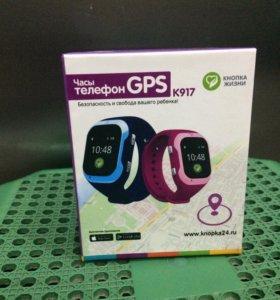 Детские часы- телефон с GPS