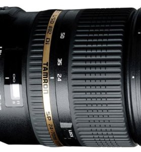 Описание Tamron AF SP 24-70mm F/2.8 DIVCUSD Nikon