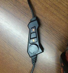 Наушники игровые 7.1 звучание кабель 1,5 метра