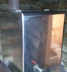 Бак нержавейка 80 литров,размер 40*40*50
