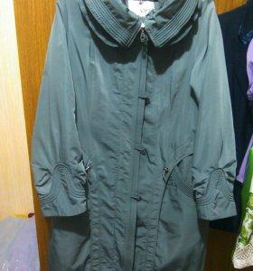 Женское пальто 54 размера