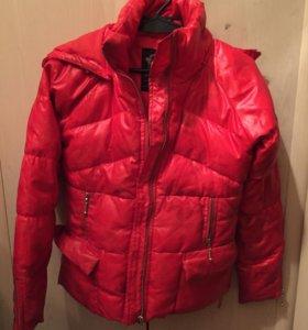 Куртка тёплая(осенняя)