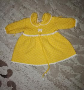 Платье 62-68 см