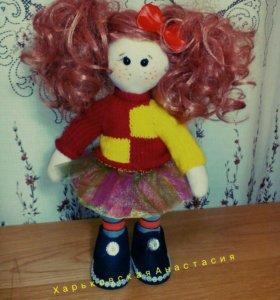 Интерьерная кукла Неформалка Маруся.