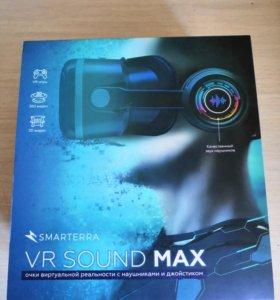 Очки VR с наушниками и джойстиком