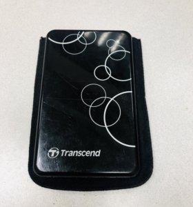 Внешний жесткий диск Transcend (750GB)