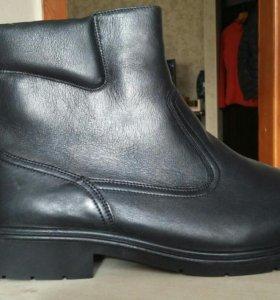 НОВЫЕ!!! Ботинки зимние натуральная кожа