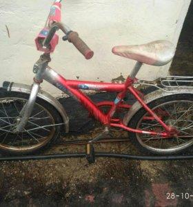 Продам подростковый велосипед MUSTANG