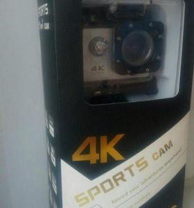 4k sports ultra hd cam, экшен камера