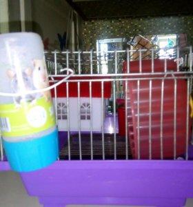 Клетка и аквариум для грызунов