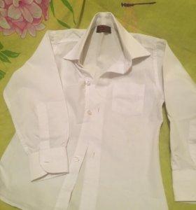 Белая рубашка детская мальчик