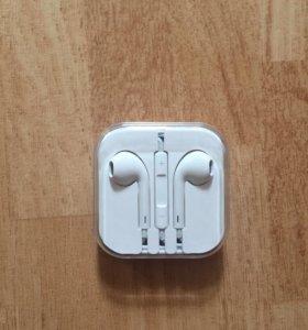 Наушники EarPods от айфона 6 оригинальные