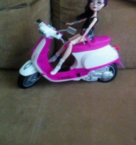Мотоцикл для кукол, состояние хорошее