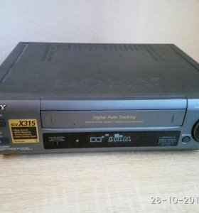 Ви́деомагнитофон кассетный SONY SLV-X315 и LG L377
