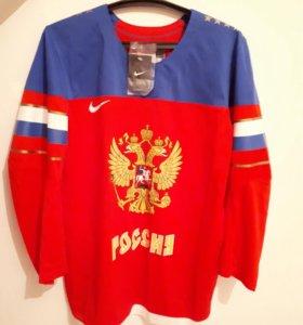 Хоккейный свитер новый